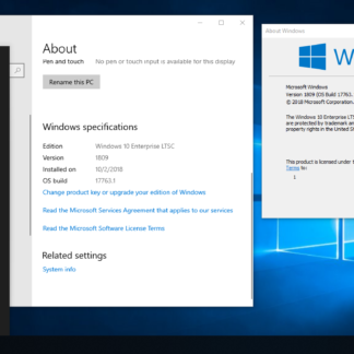 Windows 10 Enterprise LTSС